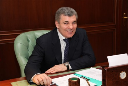Governor Kanokov uses Twitter to report terrorist attacks in his troubled North Caucasus region of Kabardino-Balkaria.