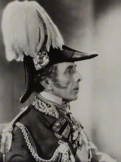 NPG x134432; George Arliss (Augustus George Andrews) as the Duke of Wellington in 'The Iron Duke' by Unknown photographer