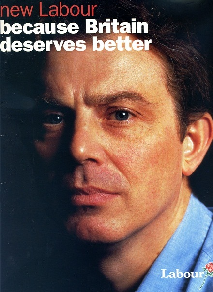 new Labour because Britain deserves better 1997