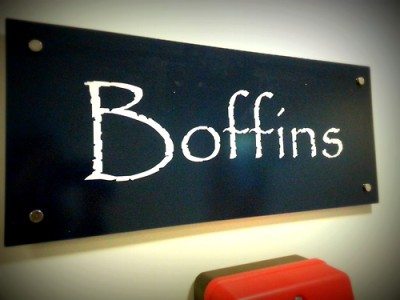 Boffins café at the University of Nottingham