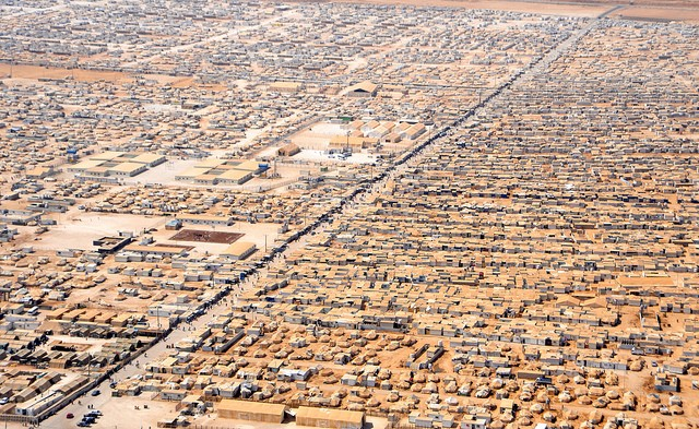 The Za'atri refugee camp in Jordan. Image credit: CC by Sharnoff's Global Views/Flickr.