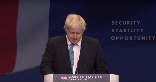 London Mayor Boris Johnson. Image credit: Screencap/ Channel 4 News